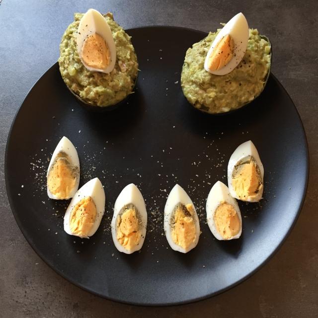 Avocado Thunfisch Salat groß