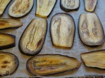 Zucchinischeiben gebacken