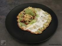 Low Carb Burrito mit Füllung