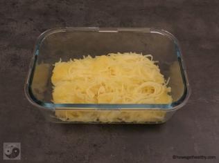 Kürbis für Spaghettikürbis al Forno