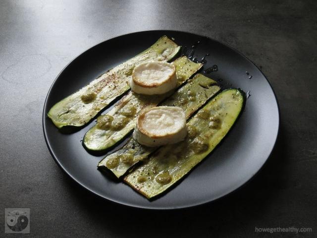 gebratene-zucchini-mit-ziegenkaese