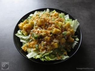 linsen-mango-salat-teller