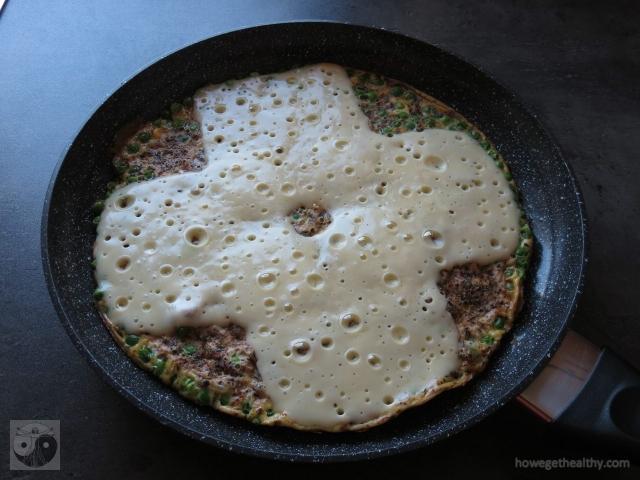 omlette-mit-erbsen-und-kaese