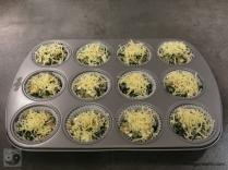 Quinoa-Spinat Muffins mit Feta Schritt 2a