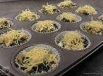 Quinoa-Spinat Muffins mit Feta Schritt 2b