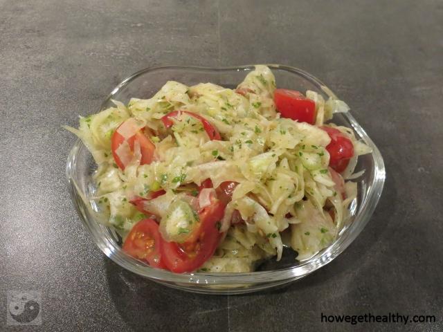 Fenchel-Tomaten-Salat