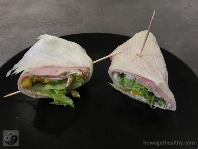 Salad-Rolls Teller