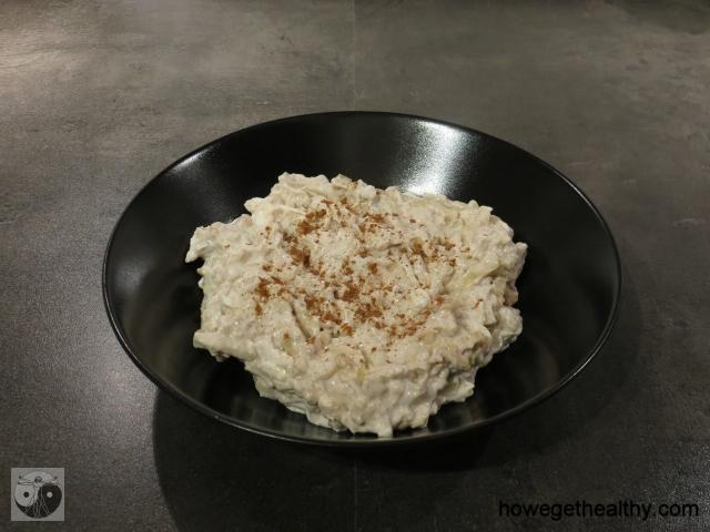 Bratapfelporridge