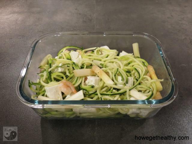 Zucchini-Spargel-Salat