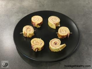 Fruehstuecksschnecken Teller