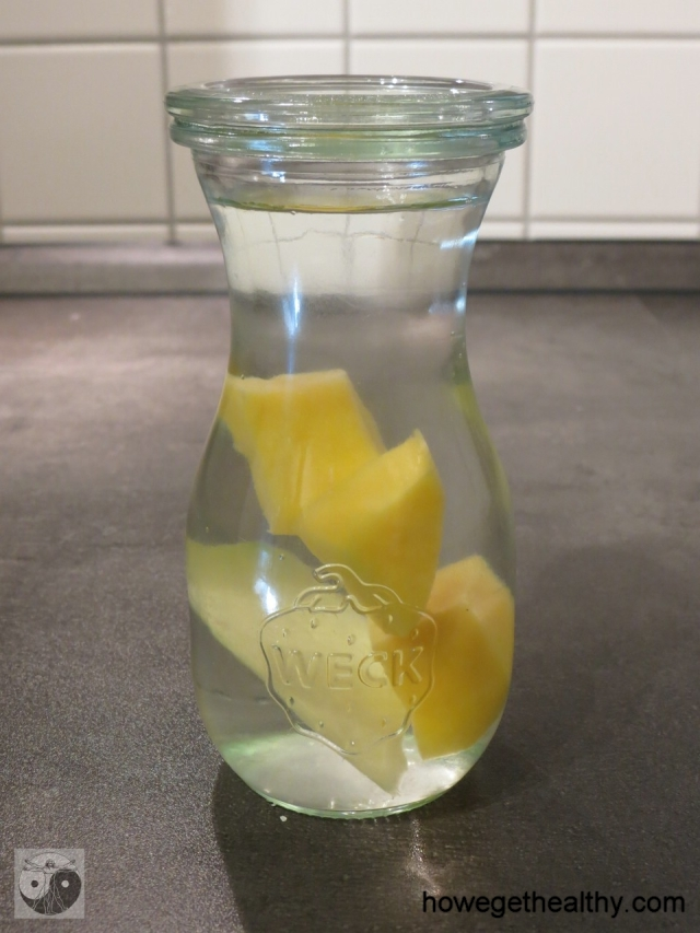 Infused Water - Mango Ingwer