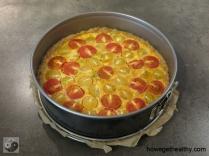 Tomaten Huettenkaesequicke Form