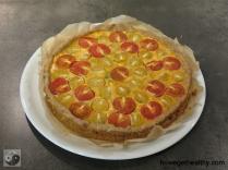 Tomaten Huettenkaesequicke ganz
