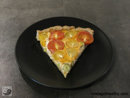 Tomaten Huettenkaesequicke Teller
