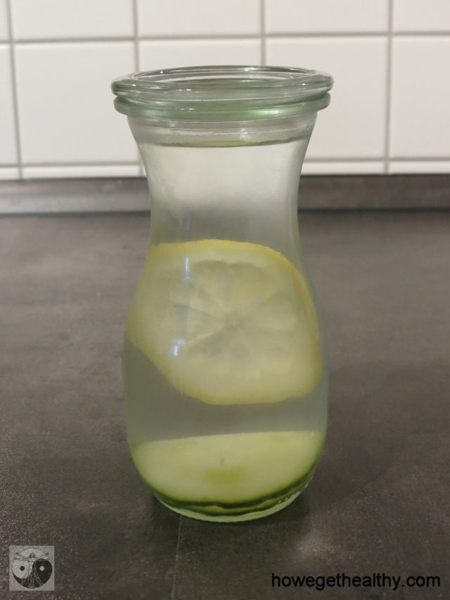 Infused Water - Zitrone-Gurke