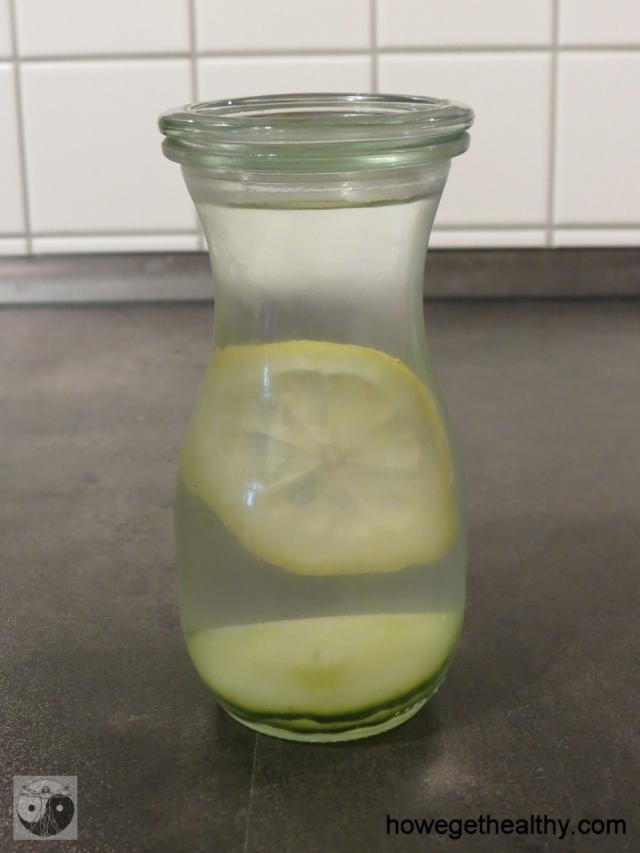 Infused Water - Zitrone-Gurke