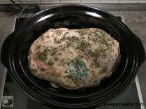 Lammkeule aus dem Slow Cooker Totale
