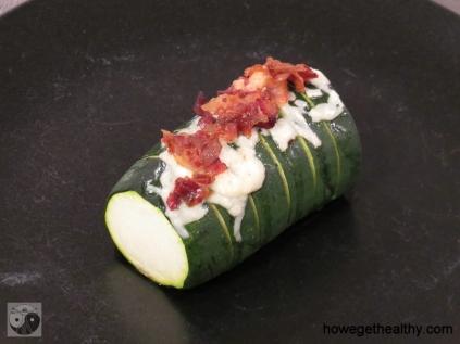 Baked Zucchini Teller