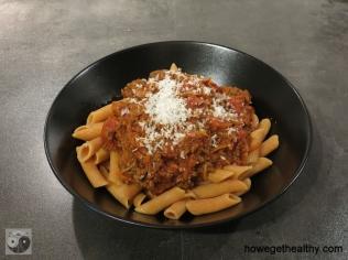 Bolognese-Sosse für Nudeln I