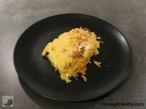 Sauerkrautauflauf mit Chorizo