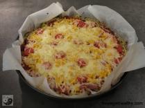Kartoffel-Zucchini-Pizza Belag 2